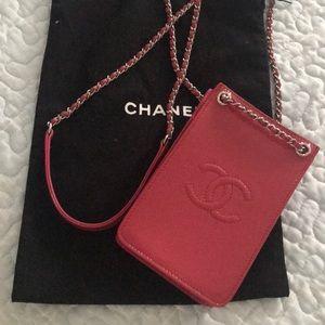 Chanel crossbody cellphone case